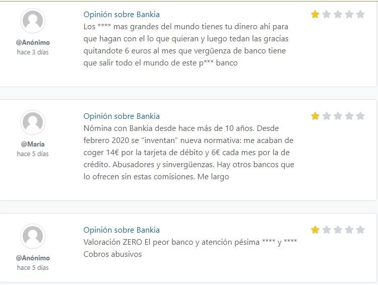 bankia online foro