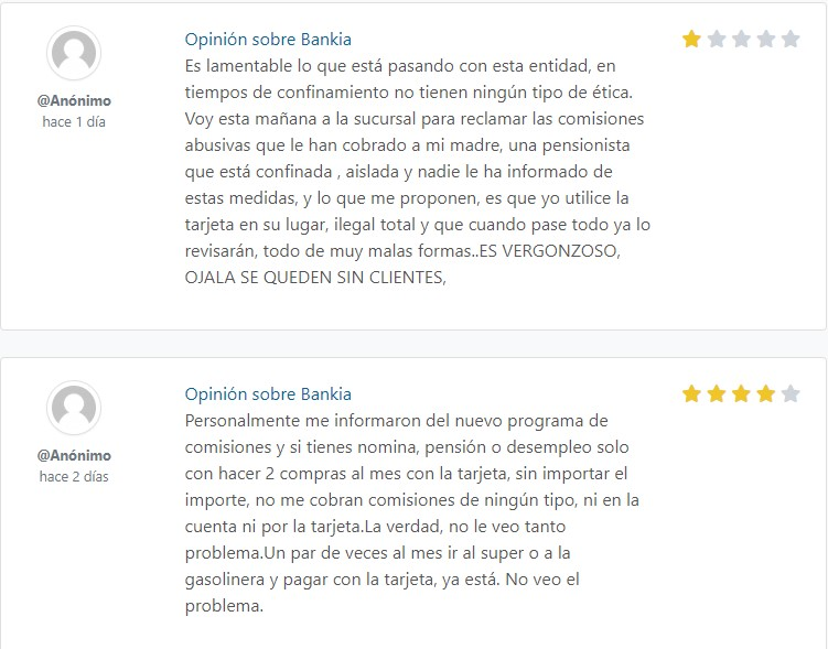 banka online opiniones