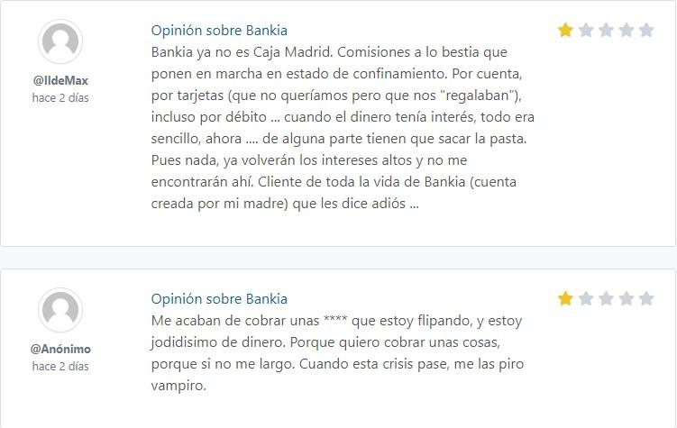bankia foro opiniones