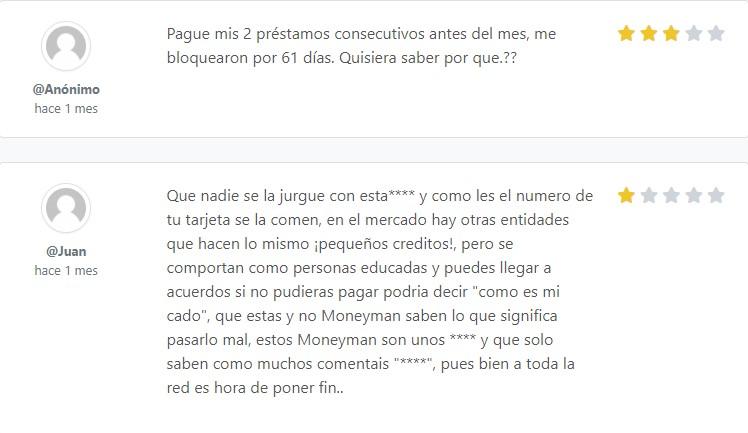 moneyman opinion